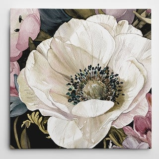 Wexford Home Carol Robinson 'Anemone Study II' Hand-wrapped Giclee Canvas Wall Art