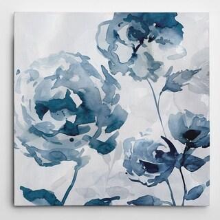 Wexford Home Carol Robinson 'Indigo Garden II' Canvas Giclee Artwork
