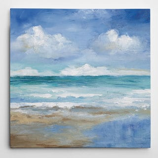 Wexford Home Carol Robinson 'Washy Coast II' Premium Gallery-wrapped Giclee Canvas
