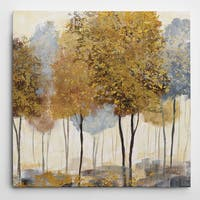 Wexford Home 'Metallic Forest II' Gallery Wrapped Art