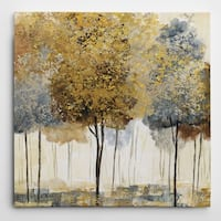 Wexford HomeMetallic Forest I Hand-Wrapped Wall Art