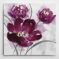 Wexford Home 'My Magenta II' Multicolored Canvas Artwork