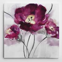 Wexford Home 'My Magenta I' Premium Gallery-wrapped Canvas