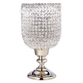 Elegance Sparkle Hurricane Candle Holder
