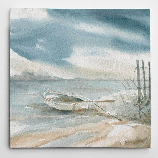Wexford Home Eugene Tava 'Subtle Mist III' Gallery-wrapped Canvas Giclee Print