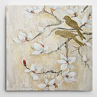 Wexford Home Carol Robinson 'Song of Spring I' Wrapped Canvas