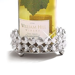 Elegance Sparkle Pillar Holder/Wine Bottle Coaster
