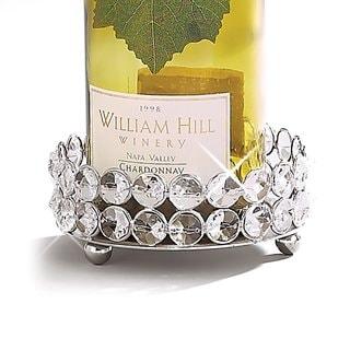 Elegance Sparkle Pillar Holder/Wine Bottle Coaster