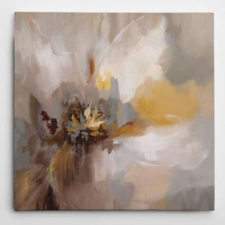 Wexford Home 'Petals Whisper' Wrapped Canvas