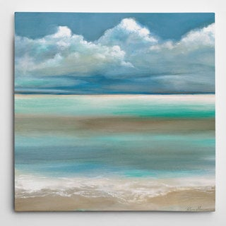 Wexford Home Ruane Manning 'Tranquility By The Sea I' Gallery-wrapped Canvas Wall Art