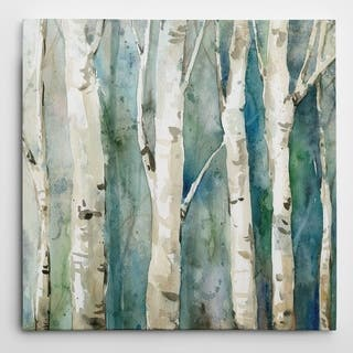 Wexford Home 'River Birch II' Wrapped Canvas