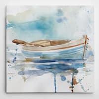 Wexford Home 'Malibu Marina I' by Carol Robinson Canvas Wall Art