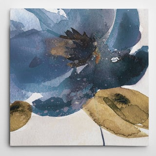 Wexford Home Carol Robinson 'Blue Note I' Wrapped Canvas Art