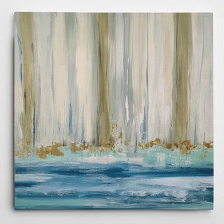 Wexford Home Carol Robinson 'Mountain Water II' Hand-wrapped Giclee Canvas Wall Art