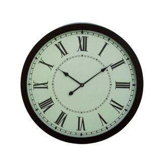 Gracewood Hollow Tantaquidgeon Benzara 30-inch Metal Wall Clock