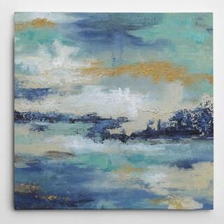 Wexford Home Carol Robinson 'Sea Isle II' Wrapped Canvas Art