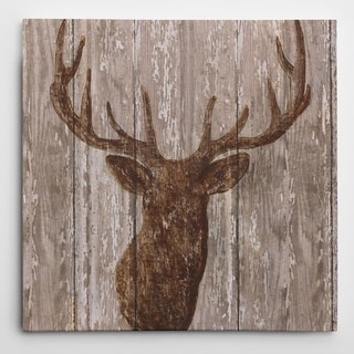 Wexford Home Nan 'Majestic Deer' Wrapped Canvas Art