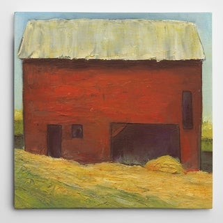 Wexford Home 'Barn III' Wrapped Canvas