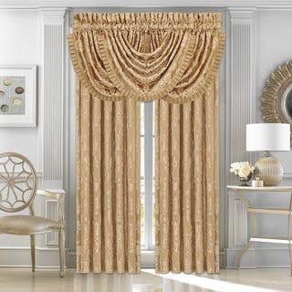 Five Queens Court Colonial Woven Waterfall Valance|https://ak1.ostkcdn.com/images/products/13219276/P19937318.jpg?impolicy=medium