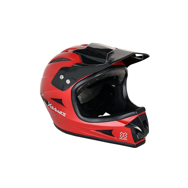 X Games Full Face Youth Helmet Red