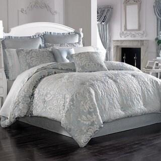 Five Queens Court Faith Woven Jacquard 4-piece Comforter Set