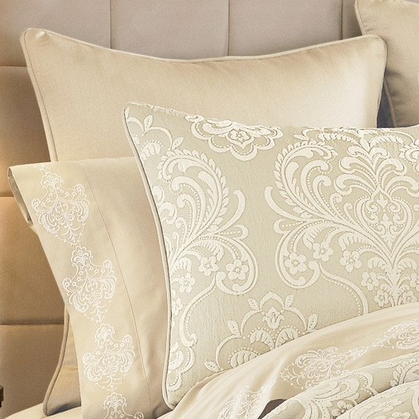 Five Queens Court Maureen Ivory Euro Sham