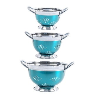 Oster Metal Colander Stainless Steel (3-piece Set)