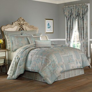 Five Queens Court Abigail Woven Jacquard 4-piece Comforter Set (2 options available)