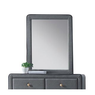 Acme Furniture Light Grey Valda Mirror
