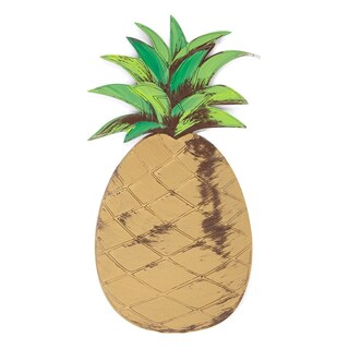 Letter2Word 'Pineapple' Hand-painted Dimensional Decor