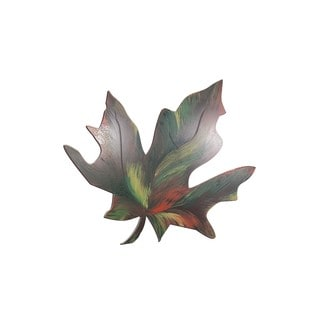 Letter2Word Fall Leaf PVC Dimensional Decor