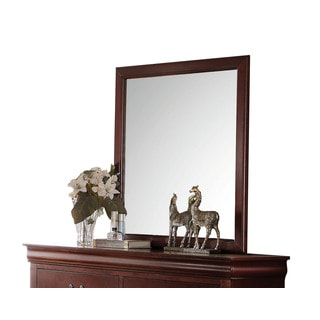Acme Furniture Louis Philippe Pine/MDF/Veneer Mirror