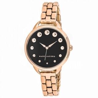 Marc Jacobs Betty MJ3495 Women's Black Dial Watch