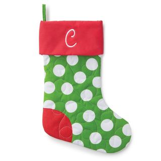 Personalized Quilted Stocking