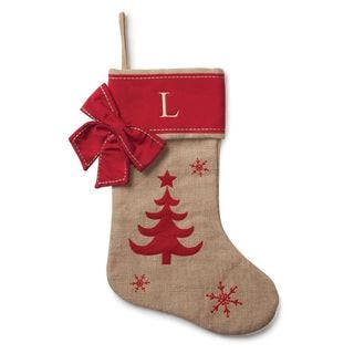 Burlap Personalized Tree Stocking|https://ak1.ostkcdn.com/images/products/13219415/P19937481.jpg?impolicy=medium