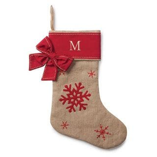 Snowflake Personalized Burlap Stocking|https://ak1.ostkcdn.com/images/products/13219420/P19937483.jpg?impolicy=medium