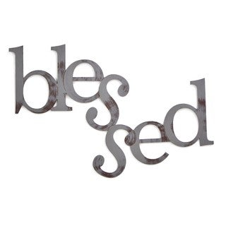 Letter2Word 'Blessed' PVC Foam Board Dimensional Word Decor