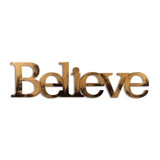Letter2Word 'Believe' Dimensional Decor
