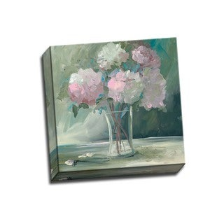 Picture It on Canvas 'Pink Peonies' Wrapped Canvas Wall Art
