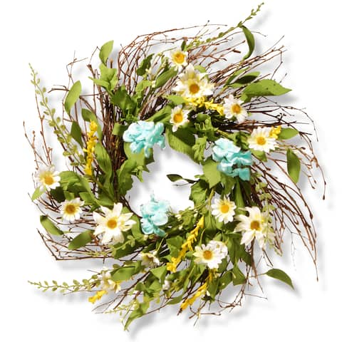 National Tree Company 22-inch Sunflower Wreath