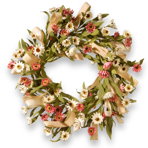 National Tree Company 22-inch Small Sunflower Wreath