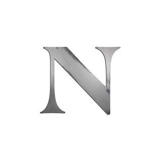 Letter2Word Letter 'N' Dimensional Decor