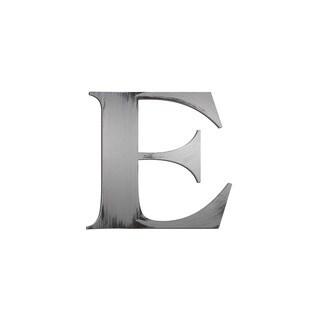 Letter2Word Letter 'E' PVC Foam Board Dimensional Decor