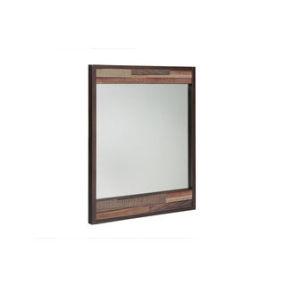 INK+IVY Tavarua Multi Wooden Frame Mirror