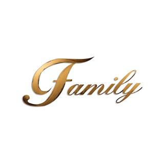 Letter2Word Family Dimensional Decor