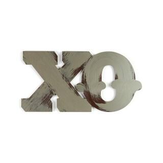 Letter2Word 'XO' PVC Foam Board Hand-painted Dimensional Word Art