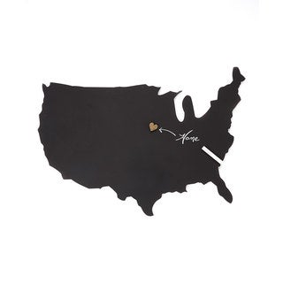 Letter2Word Us Map Chalkboard