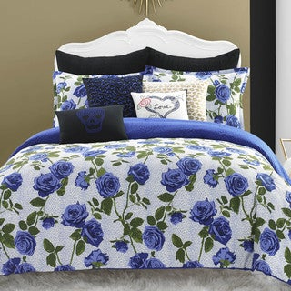 Betsey Johnson Regal Roses Cotton Comforter Set