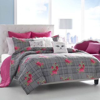 Betsey Johnson Polished Punk Comforter Set