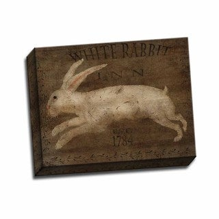 Picture It on Canvas 'White Rabbit Inn' 11-inch x 14-inch Wrapped Canvas Artwork